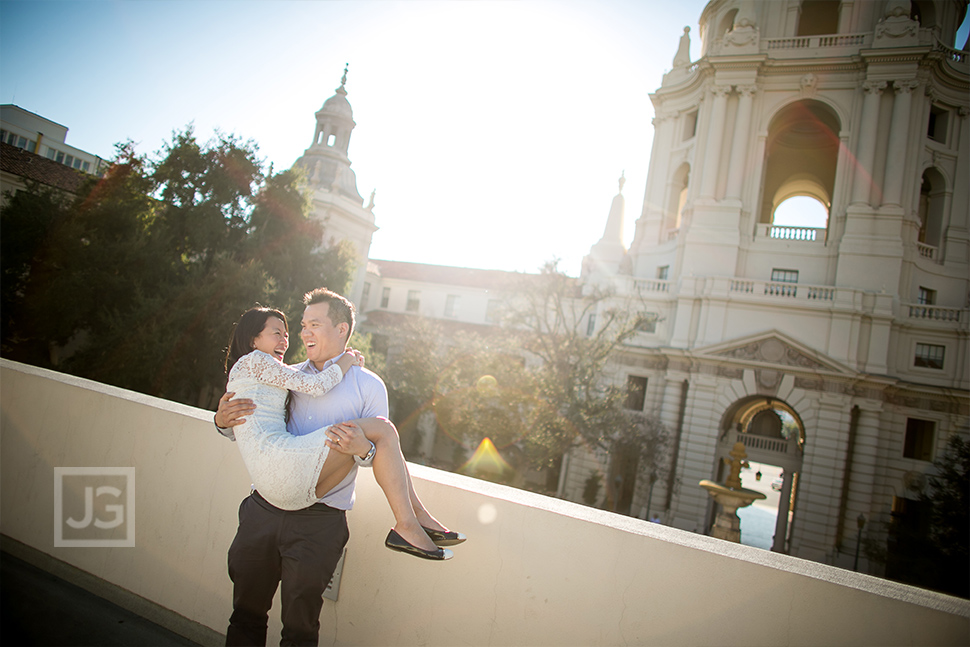 Pasadena City Hall Wedding Photo