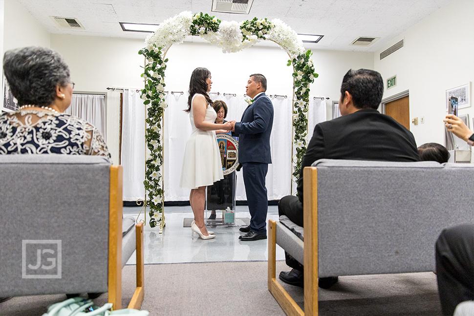 Beverly Hills Elopement Wedding Ceremony