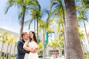 Beverly Hills Courthouse Wedding Elopement | Joyce + Won Ho