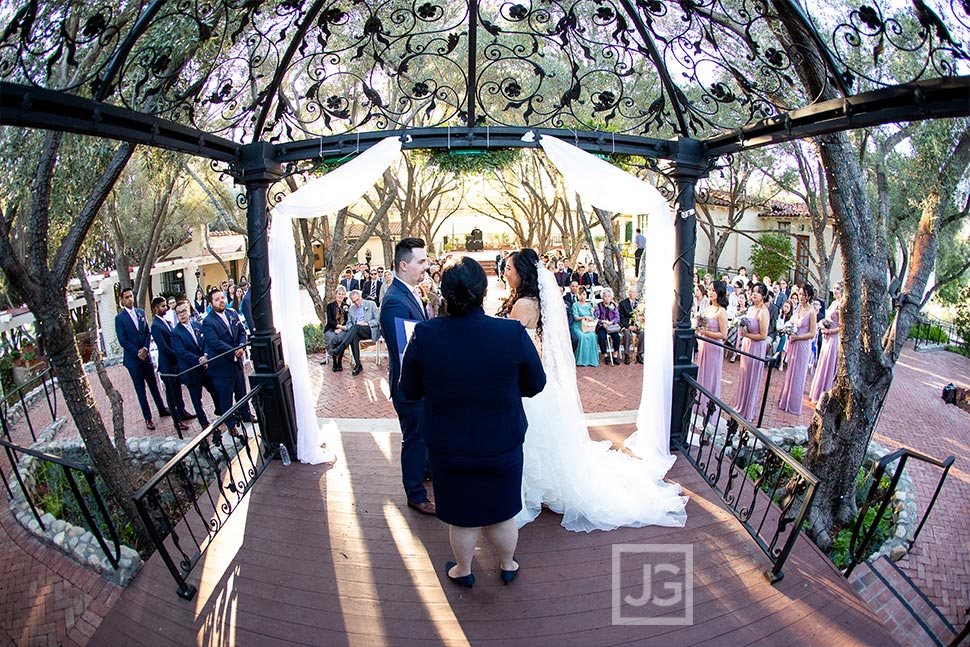 Padua Hills Theatre Wedding Ceremony