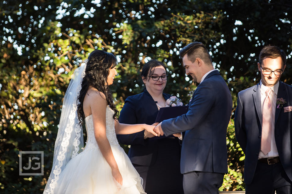 Padua Hills Theatre Wedding Ring Ceremony