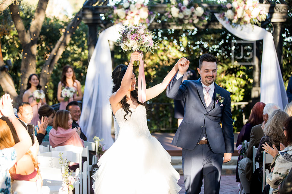 Padua Hills Theatre Wedding Ceremony Recessional