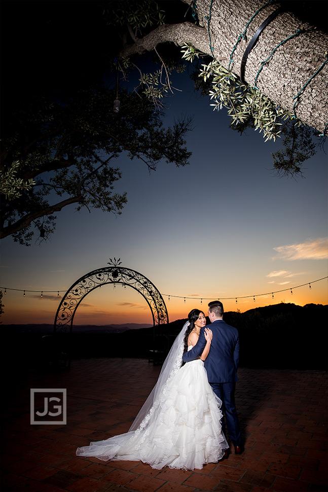 Padua Hills Wedding Photography on the Terrace