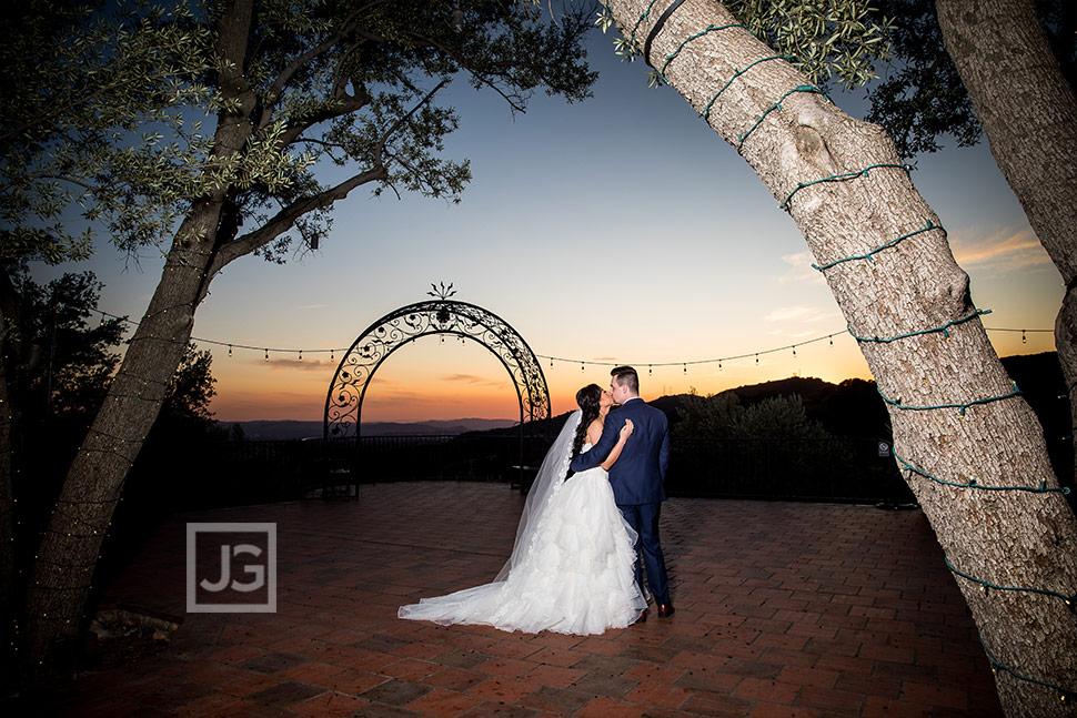 Padua Hills Wedding Photography Sunset