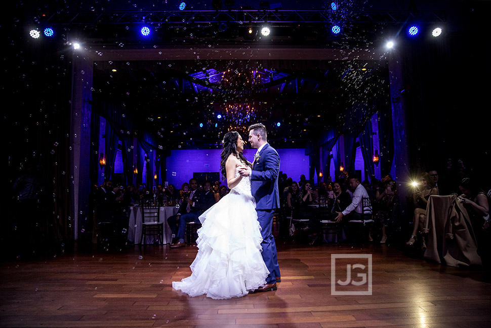 Padua Hills First Dance with Bubbles