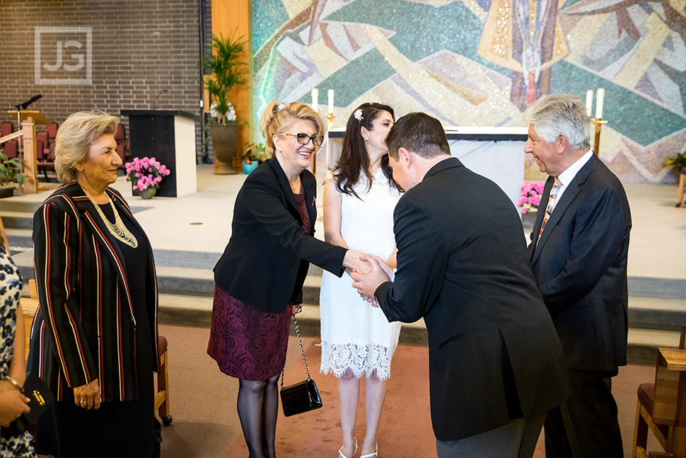 St. John Neumann Catholic Church Wedding Photography