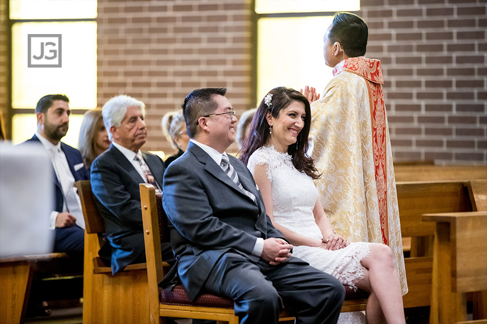 Irvine Catholic Wedding Photography
