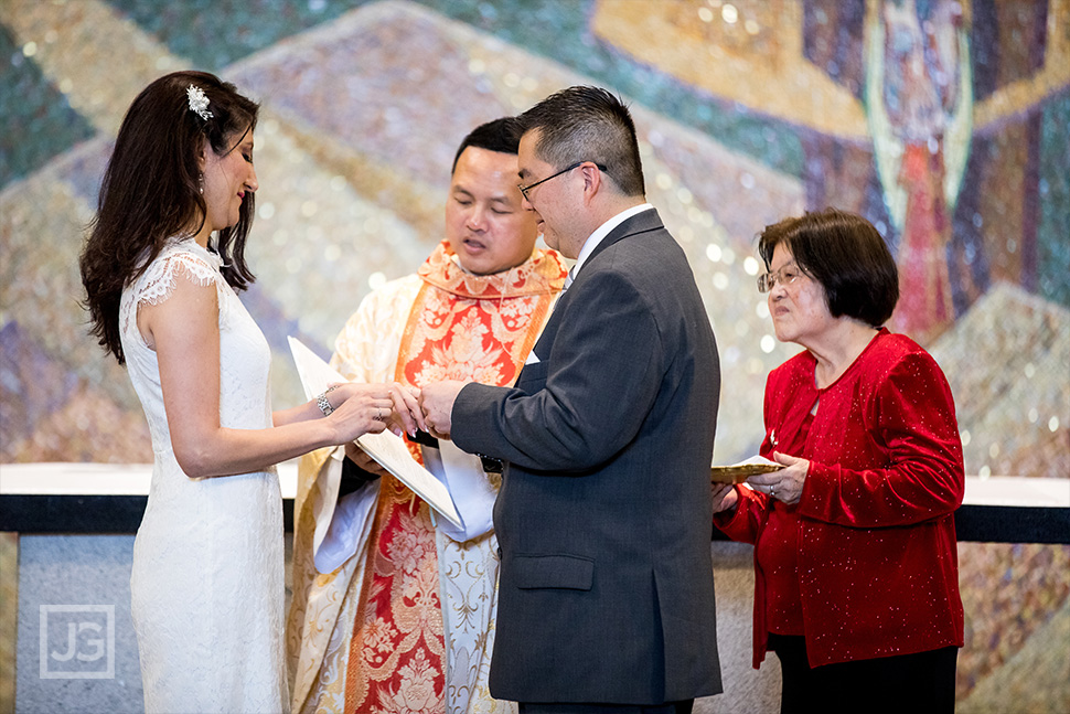 St. John Neumann Catholic Church Ring Ceremony