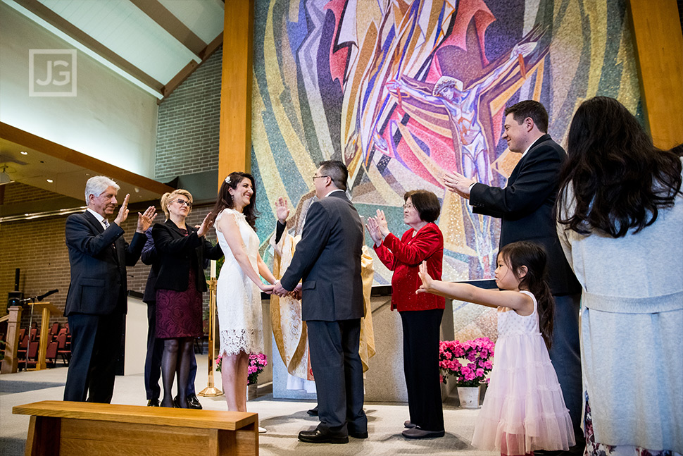 St. John Neumann Catholic Church Wedding Ceremony