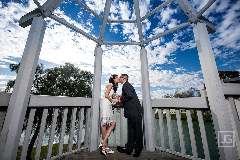 Irvine Wedding Photography Gazebo