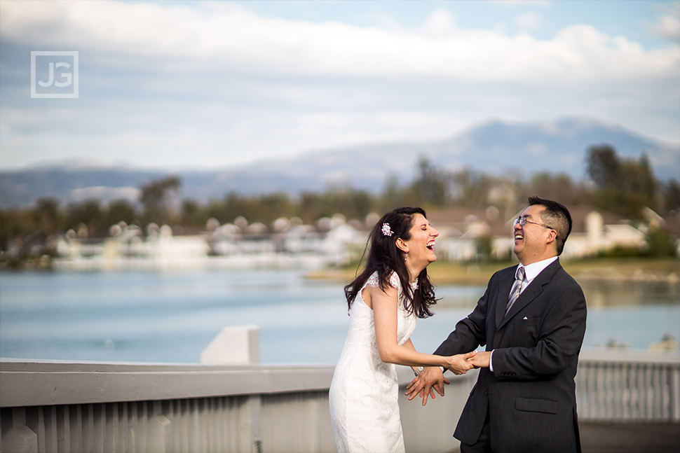 North Lake Irvine Wedding Photos
