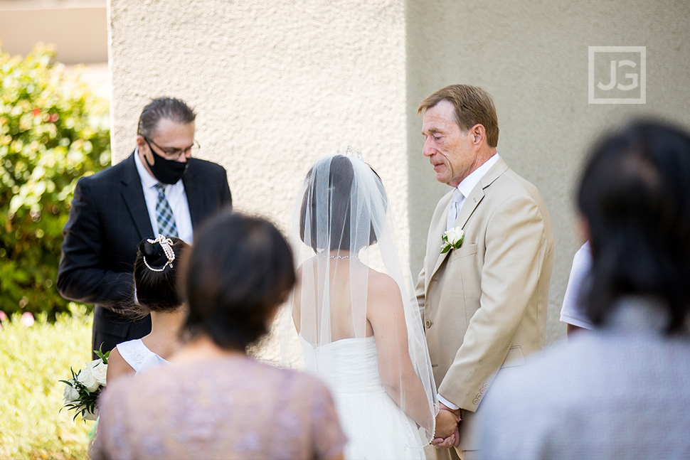 Intimate Wedding Glenkirk Church Glendora