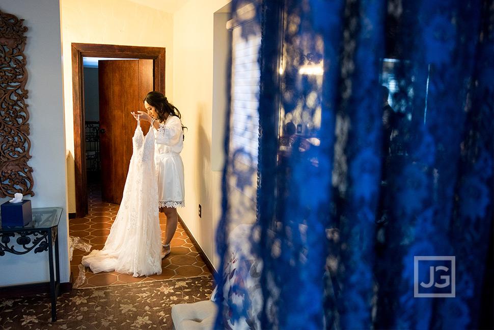 Padua Theatre Wedding Bride Preparation