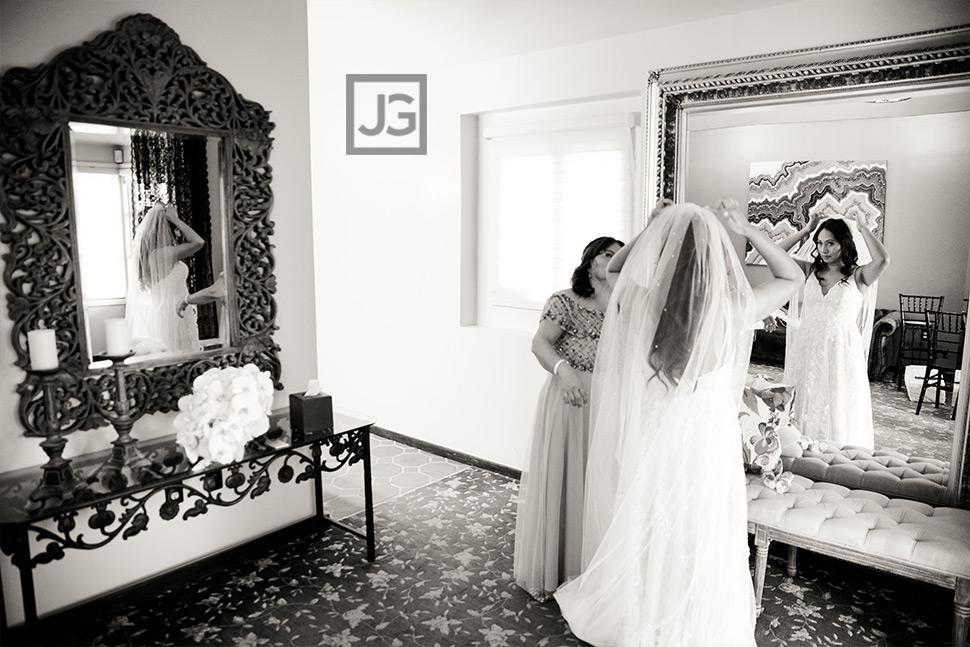 Padua Hills Theatre Wedding Bride Preparation