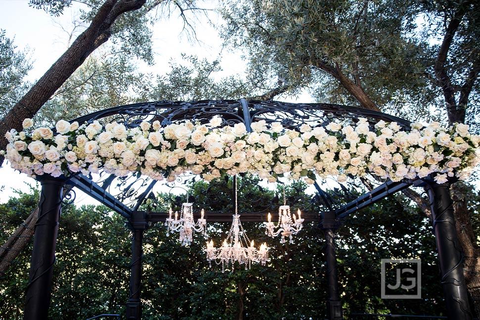 Padua Hills Gazebo Wedding Flowers