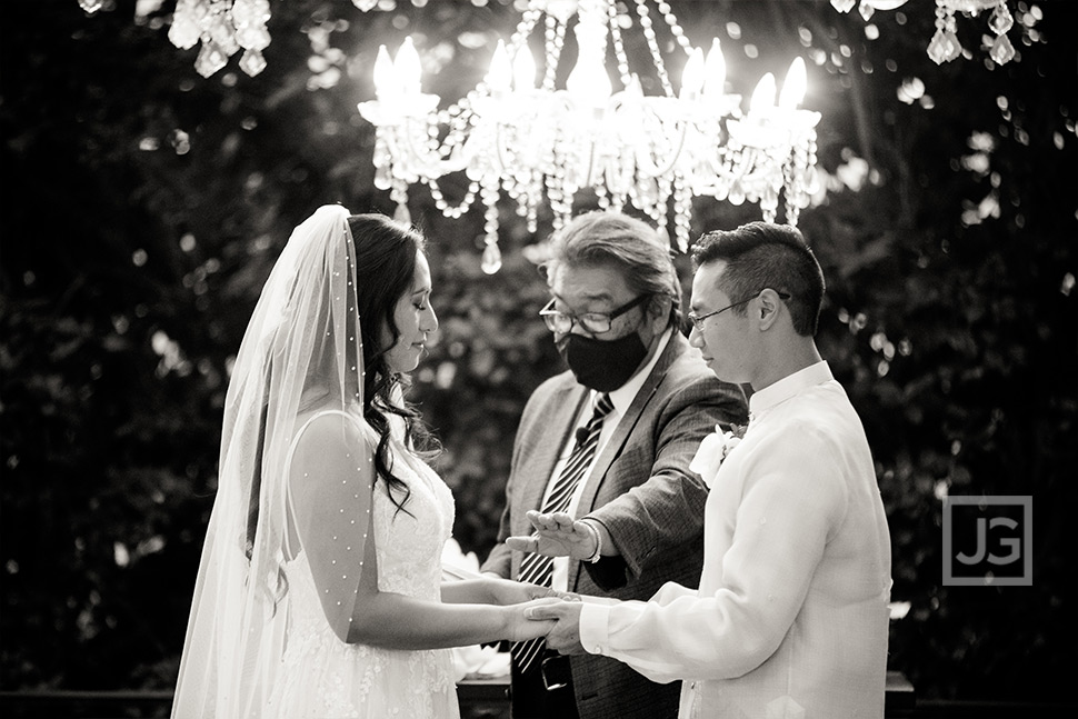 Padua Wedding Ceremony Final Blessing
