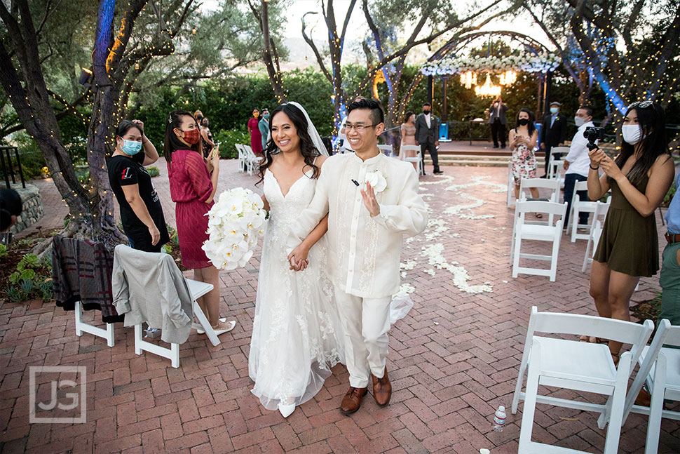 Padua Theatre Wedding Ceremony Recessional