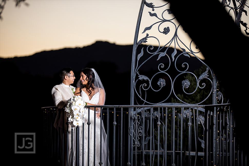 Padua Hills Theatre Wedding Photos Sunset Terrace