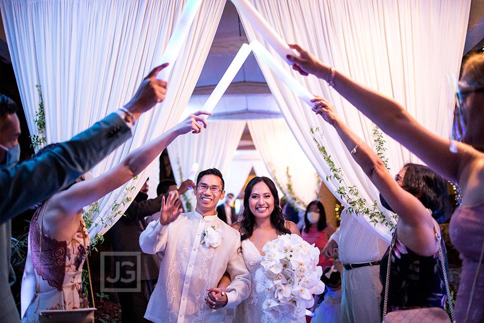 Padua Hills Theatre Micro Wedding Grand Exit