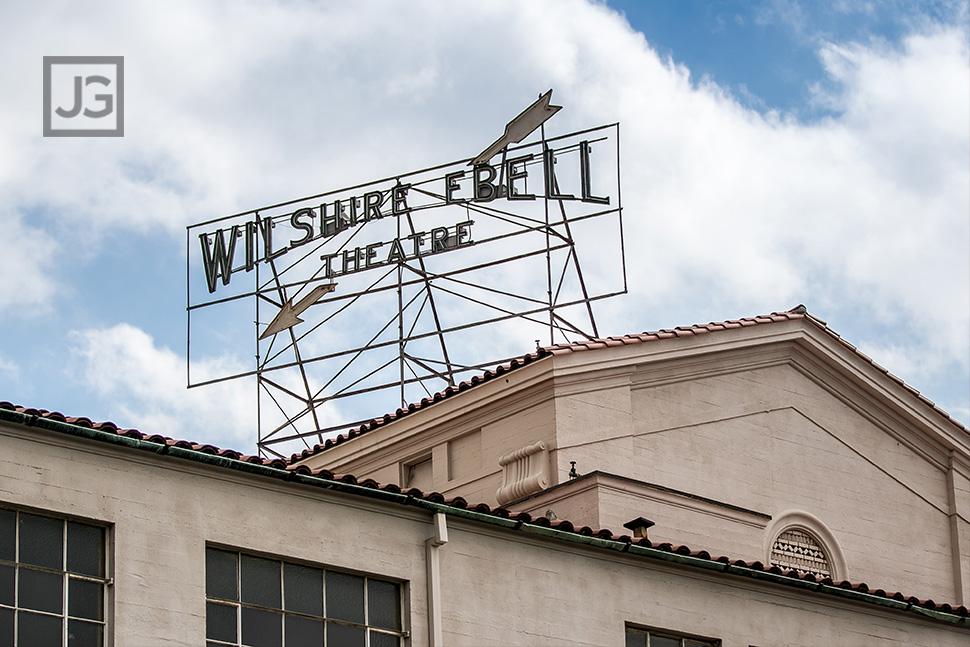 Wilshire Ebell Neon Sign