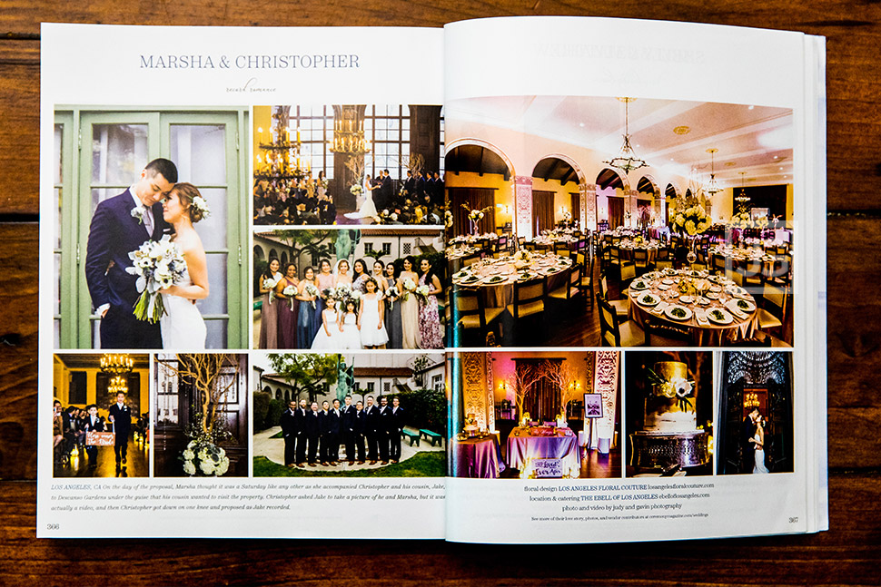 Ceremony Magazine Article at Wilshire Ebell Theatre