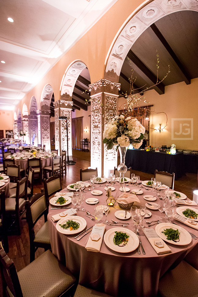 Los Angeles Ebell Wedding Reception