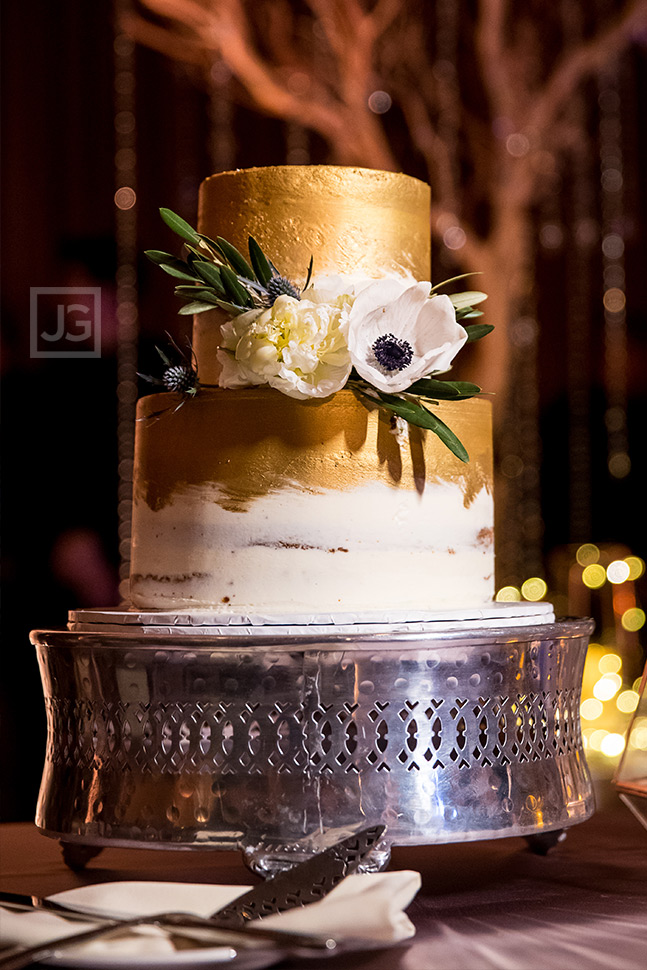 Wedding Cake at the Los Angeles Ebell