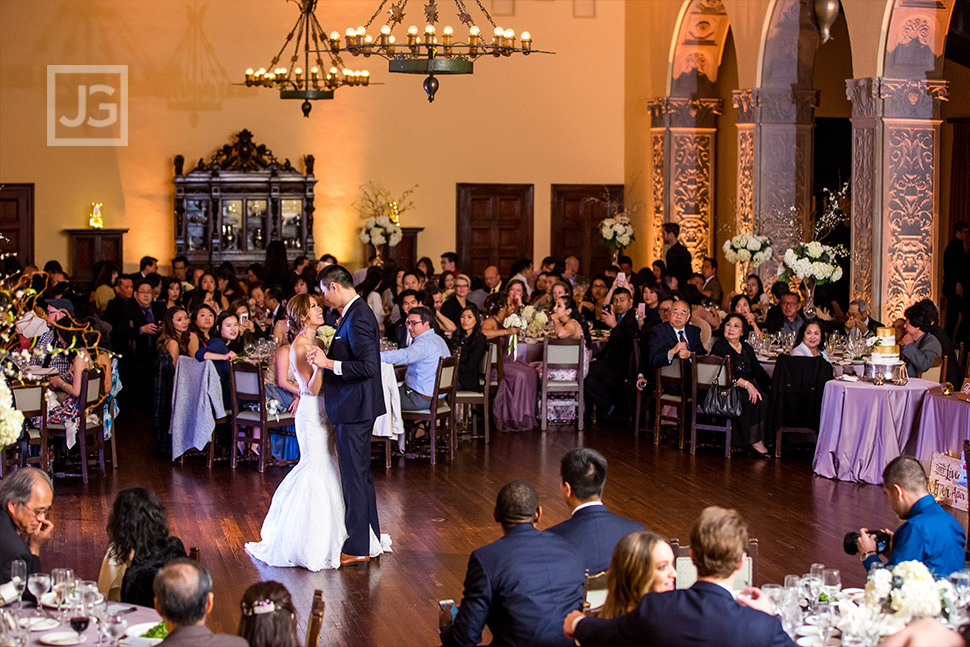 Wilshire Ebell Theatre Wedding First Dance