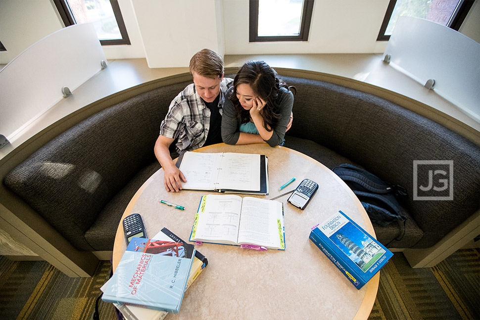 Cal Poly Pomona Engagement Photography Library