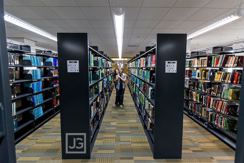 Cal Poly Pomona Library Engagement Photos