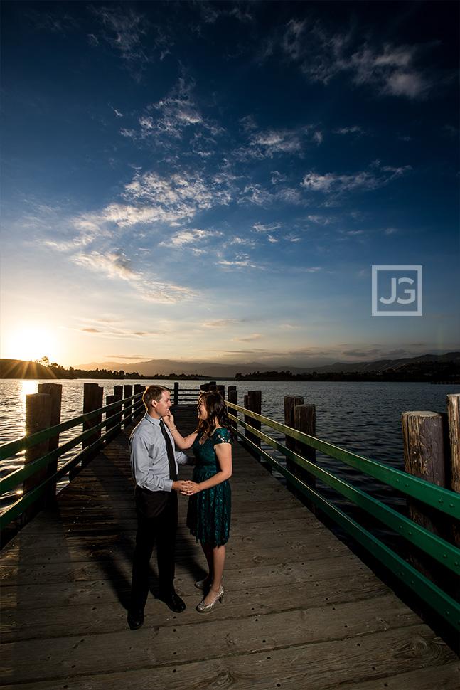 Bonelli Park Engagement Photography Pier