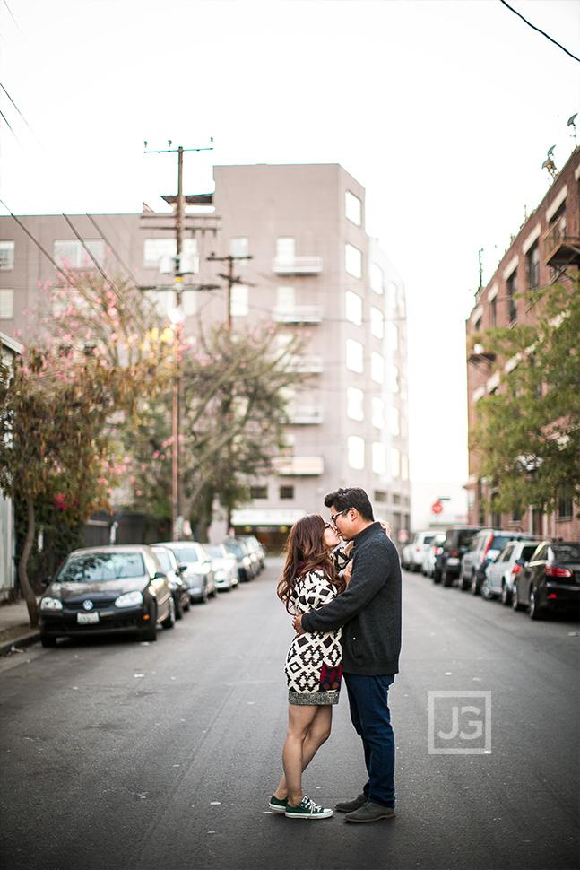 Arts District Engagement Photography