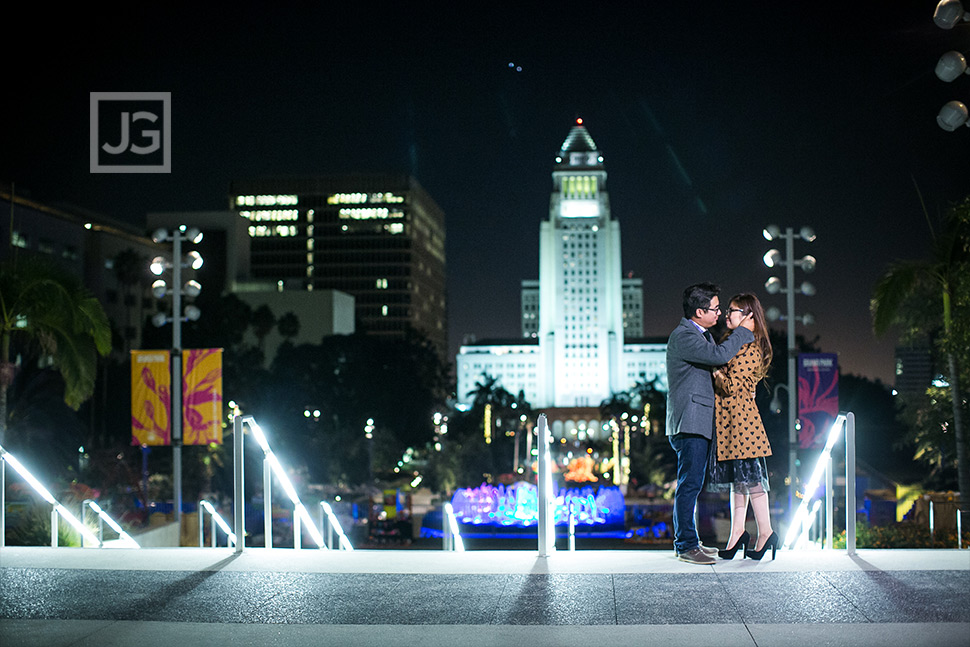 Engagement Photos LA City Hall