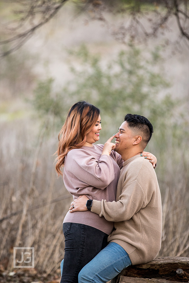 Bonelli Park Engagement Photography in Los Angeles County
