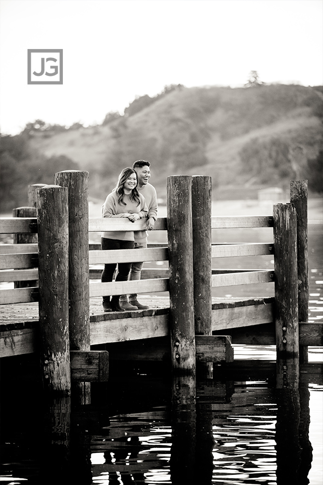 Bonelli Park Pier Engagement Photography