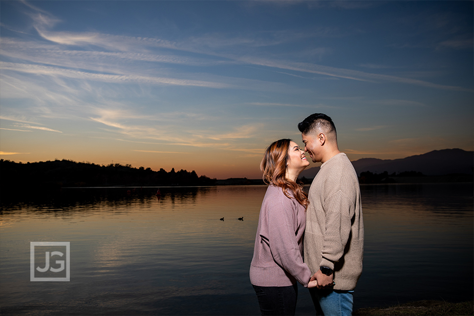 Puddingstone Reservoir Engagement Photography