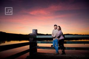 San Dimas Engagement Photos Bonelli Park | Emily + Ray
