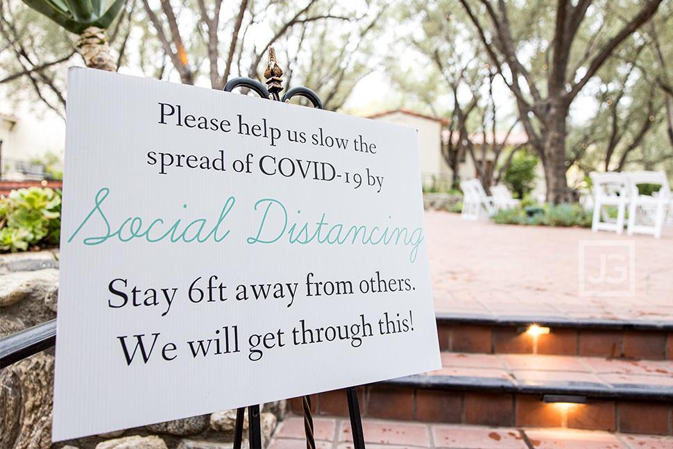 Covid19 Wedding Coronavirus Sign