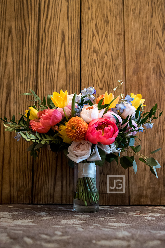 Padua Hills Theatre Wedding Bridal Bouquet