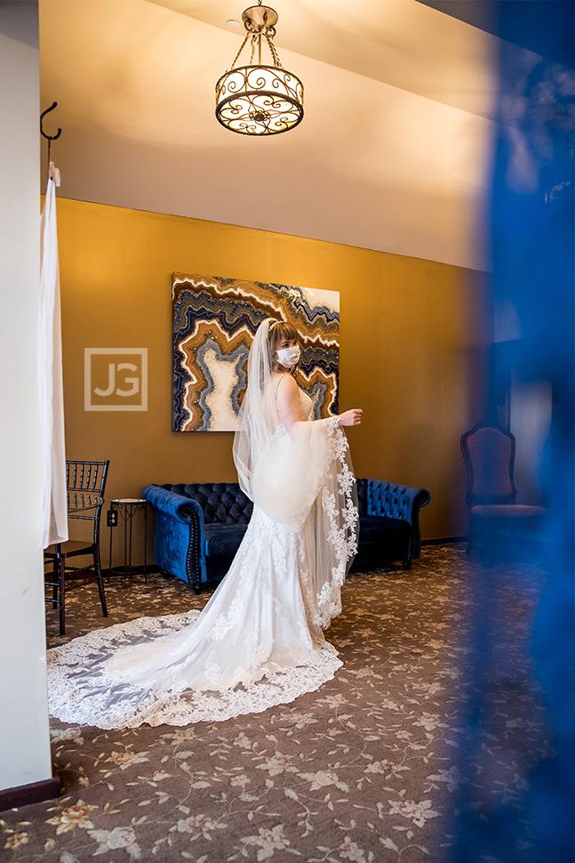 Bride Wedding Preparation During Covid19