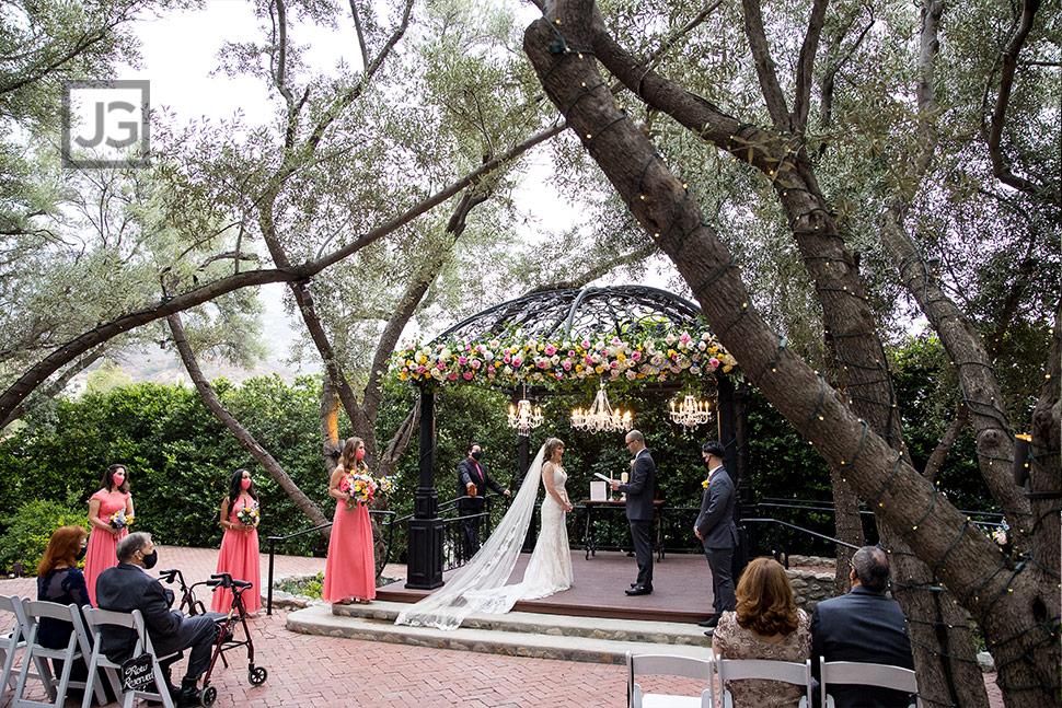 Claremont Wedding Ceremony