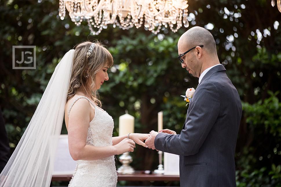Padua Wedding Ring Exchange