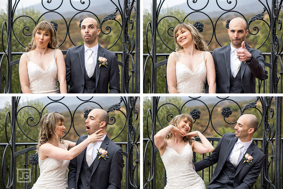 Cute Wedding Couple Photos
