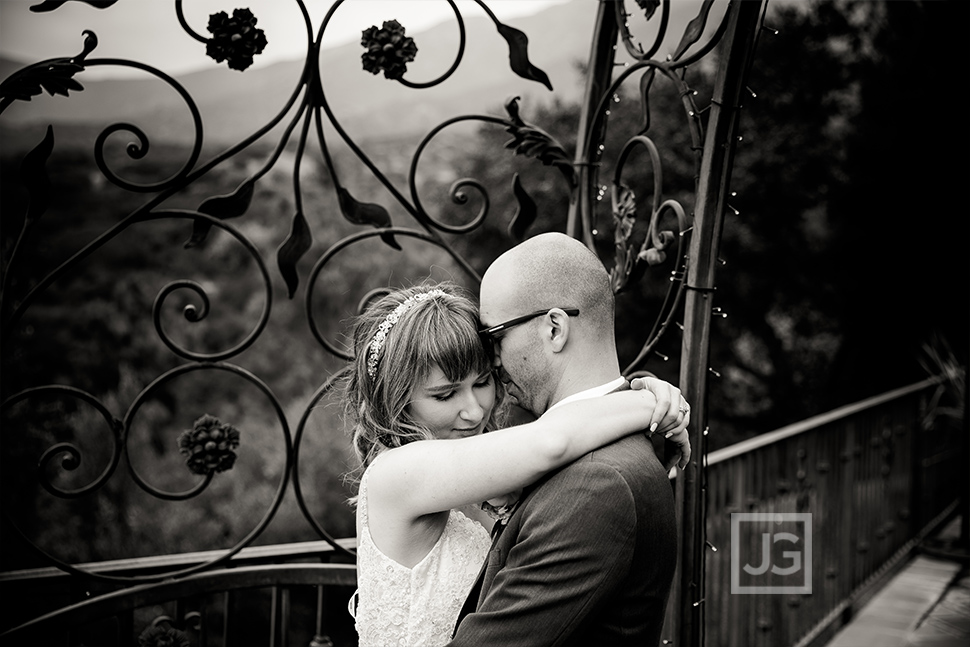 Last Hug of the Wedding Day