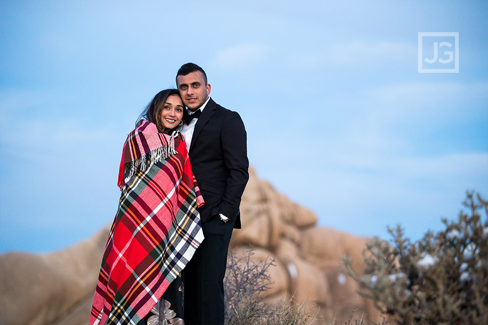 Engagement Photography in the Cold Snow