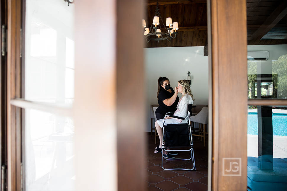 Quail Ranch Wedding Bride Makeup