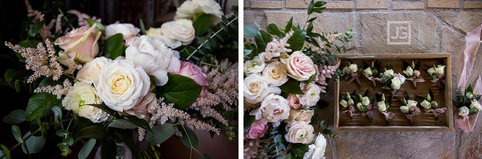 Quail Ranch Wedding Bouquet