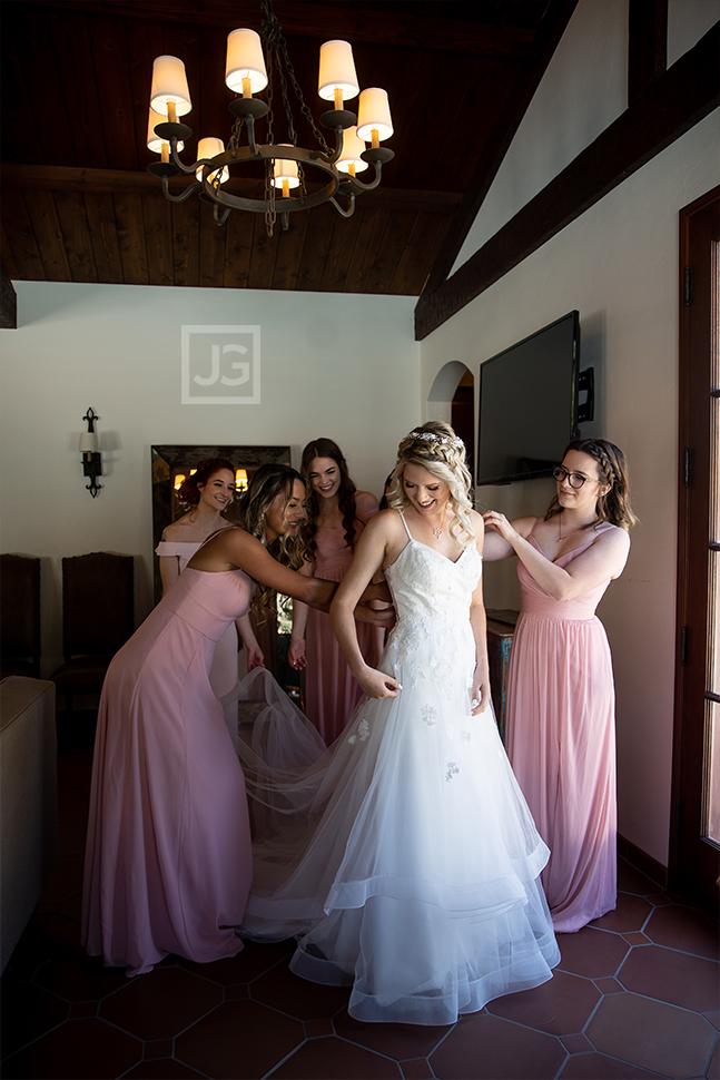 Quail Ranch Bride Preparation