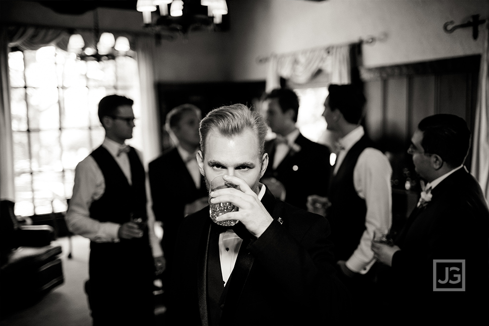 Groomsmen Wedding Photo at Quail Ranch
