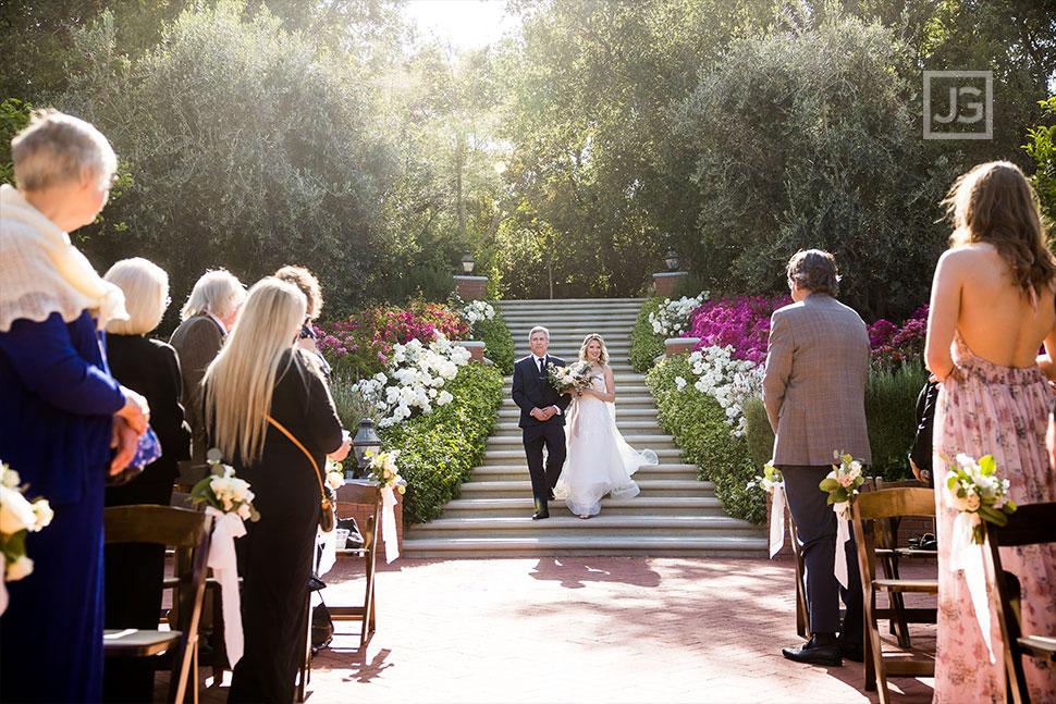 Quail Ranch Wedding Ceremony Photography